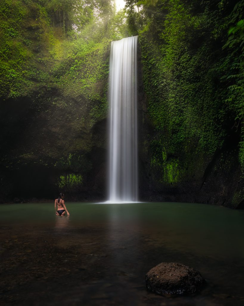 Dreamy Waterfall in Bali