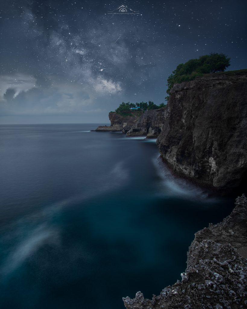 The Dreamy night in Penida Island